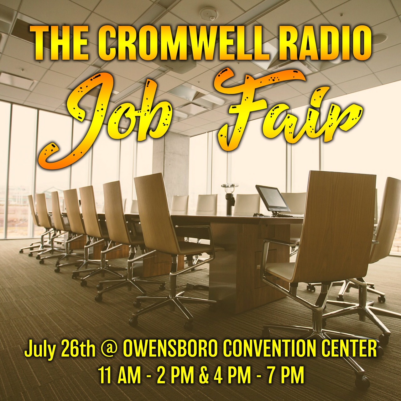 Job Fair Set for Thursday July 26th at Convention Center