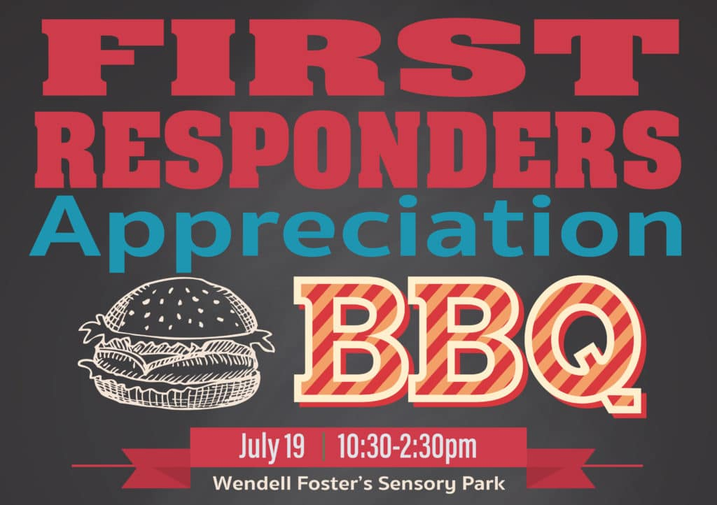 First Responders Appreciation BBQ At Wendell Foster
