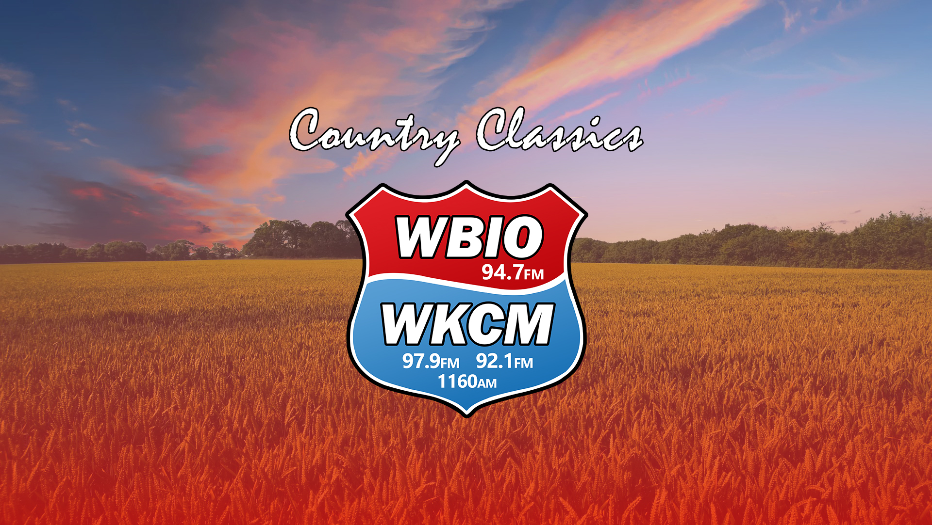 "WBIO-FM 94.7 And WKCM 92.1/97.9 Merge To Give ""Classic Country"" Bigger Signal"
