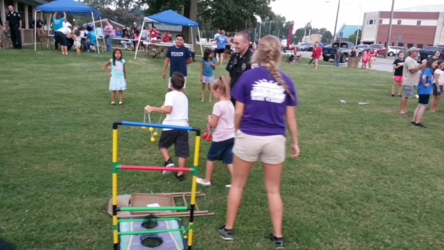 Owensboro Police Participates In National Night Out Events