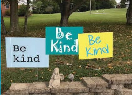 Church Posting 'Be Kind' Signs In Owensboro