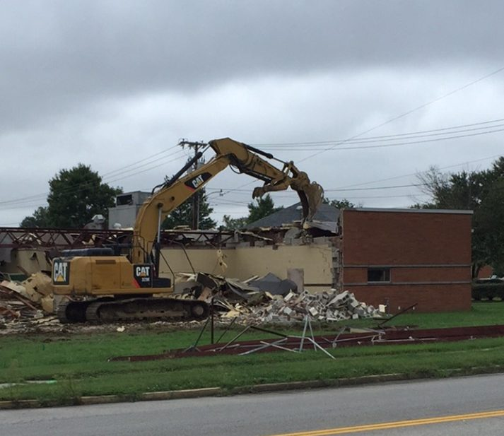 Former JA Building Comes Down