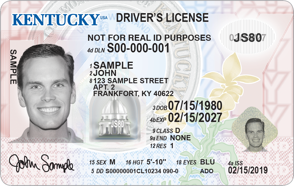Kentucky Transportation Cabinet unveils new license design