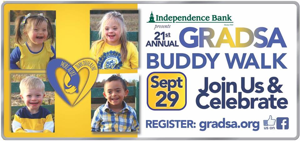 GRADSA Annual Buddy Walk Is This Saturday
