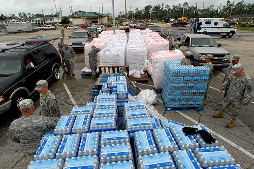Kentuckiana Red Cross Volunteers Helping Out In FL Panhandle
