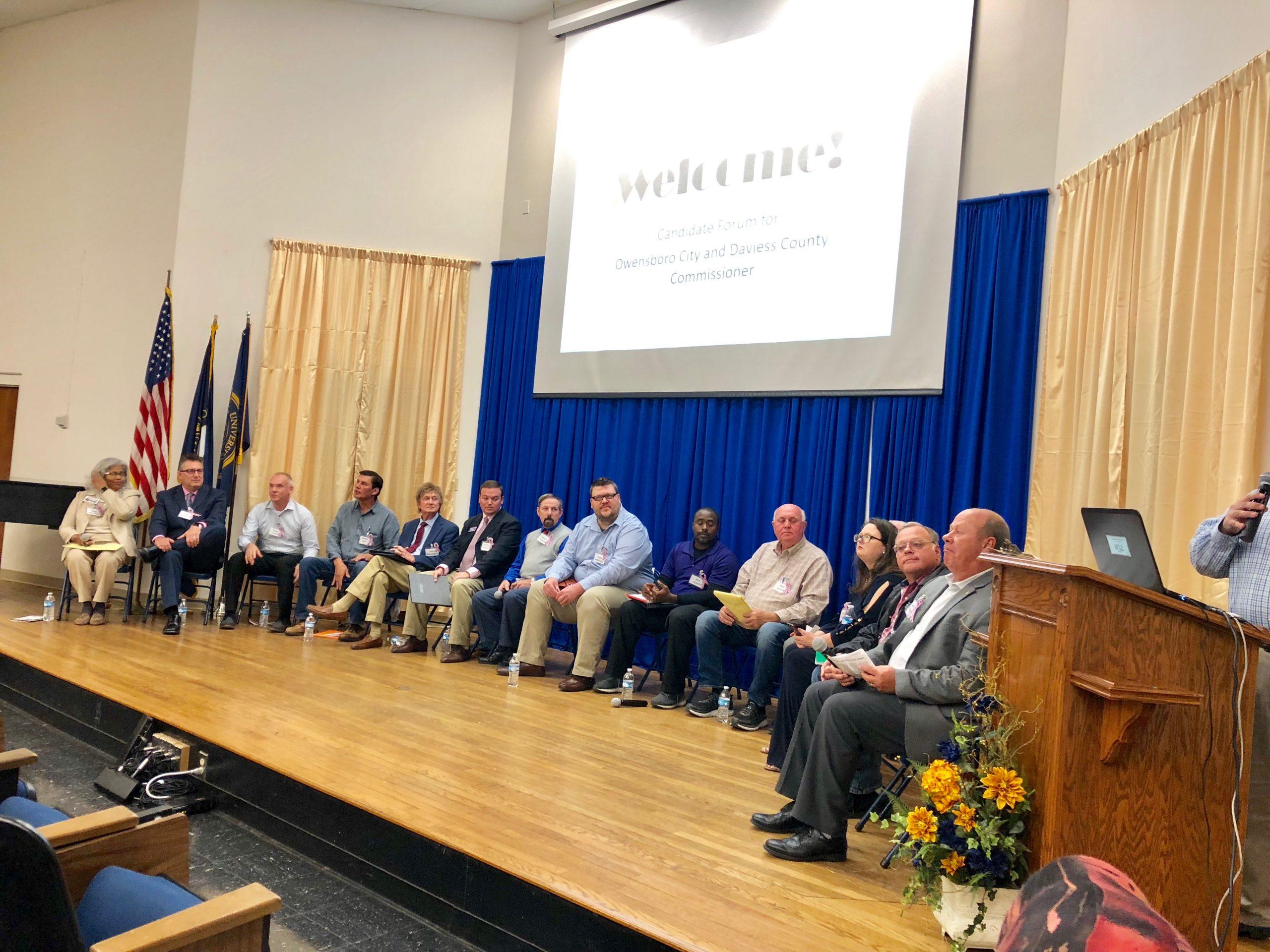 City/County Commissioner Forum At Brescia Last Night
