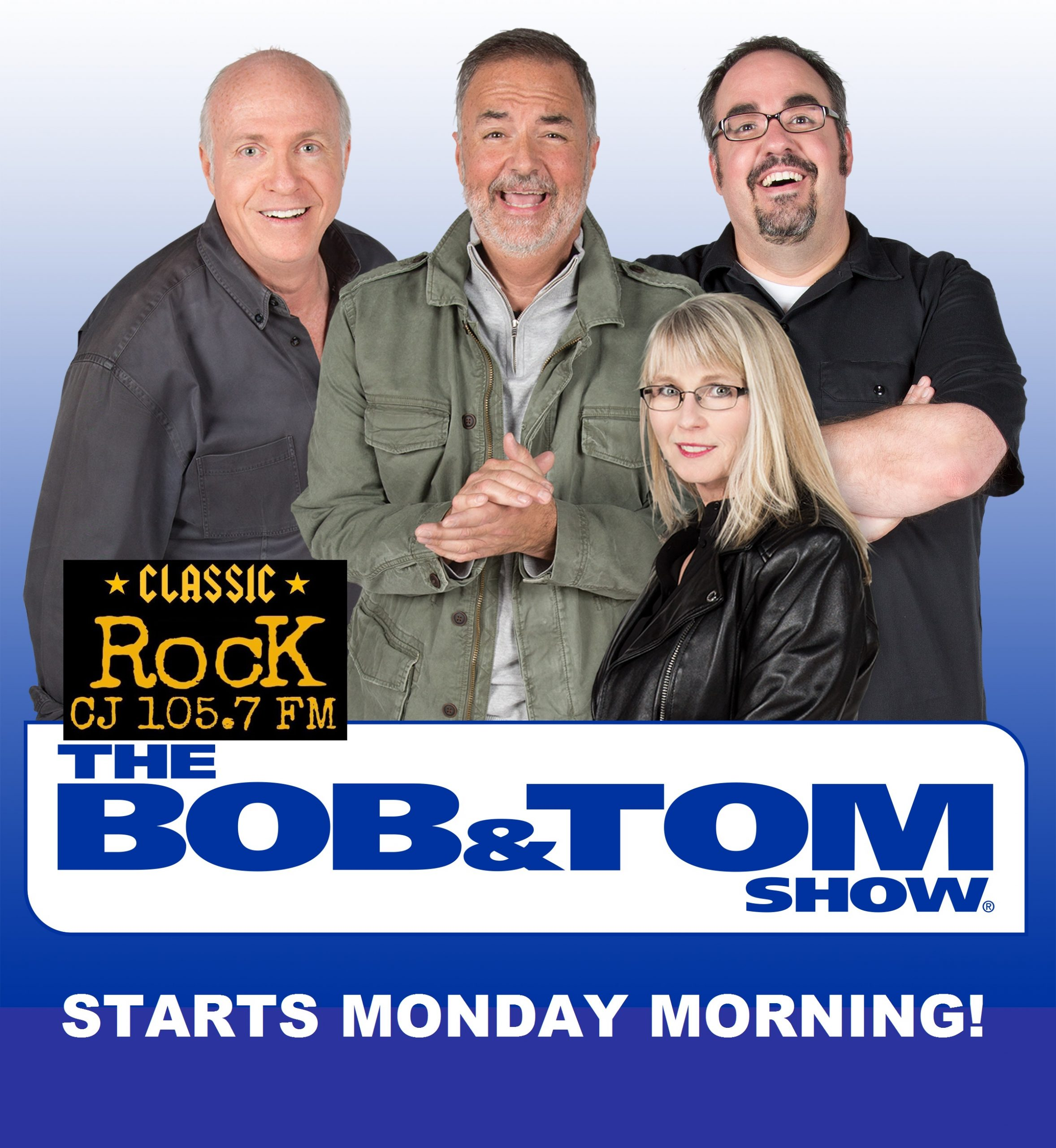 Cromwell Radio Group's CJ 105.7 Brings Bob & Tom!