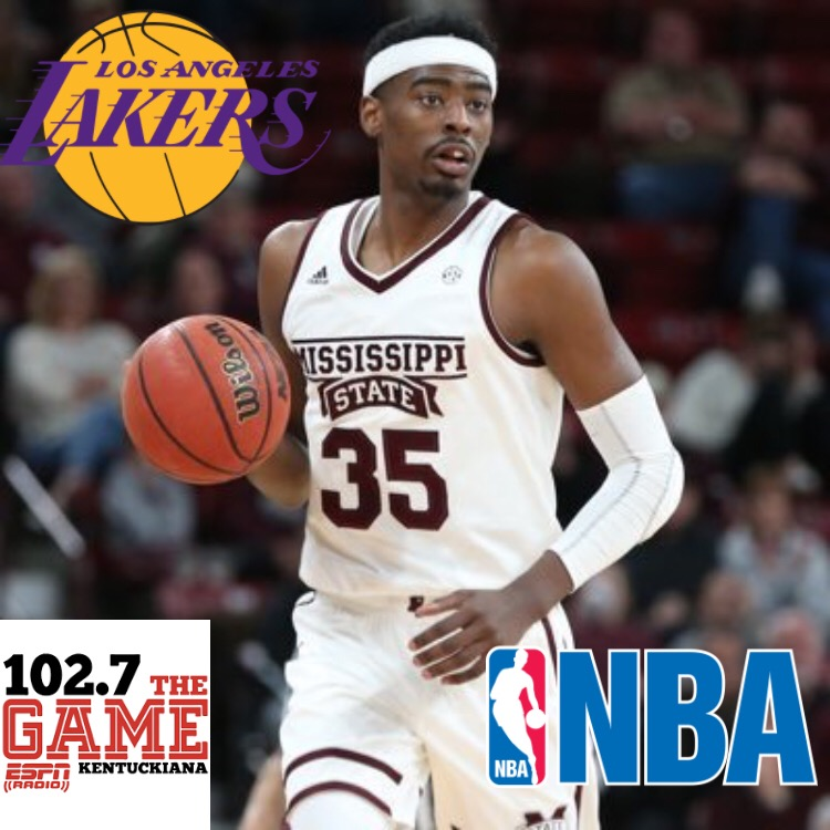 best loved 1f11f 514a8 OHS Grad signs with LA Lakers | Owensboro Radio