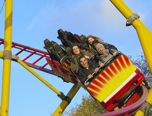 A New Rollercoaster Will Charge Your Phone With Your Screams