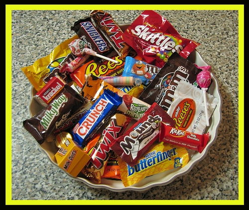 Four Weird Things to Do with Your Leftover Halloween Candy