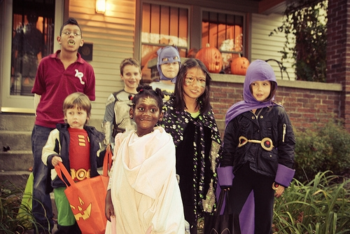 The Ten Best Cities for Trick-or-Treating
