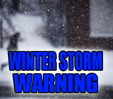 Winter Storm Warning Issued for Portions of Indiana Listening Area