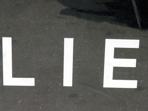"The Ten ""White Lies"" We Tell Most"