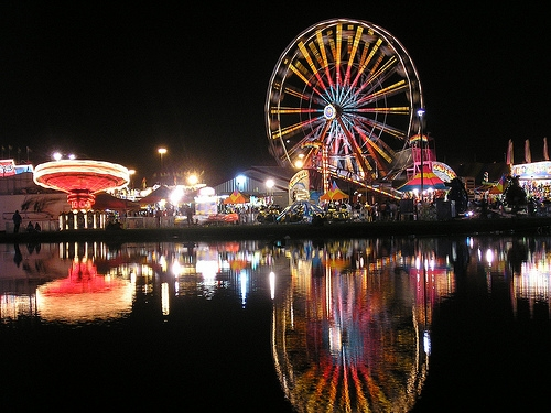 The Party Heads to Vigo County Fair