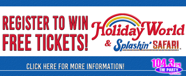 Last Call for Holiday World Register to win