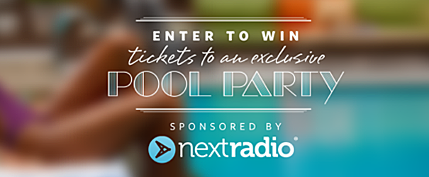 Win an Exclusive FREE trip to L.A. to party at the pool with Justine Sky