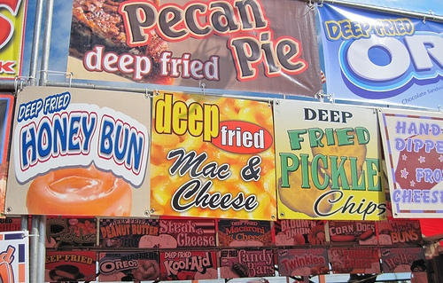 The Top Foods at the Texas State Fair Are Fried Jell-O, Cookie Fries, and Fried Bacon Burgers on a Stick