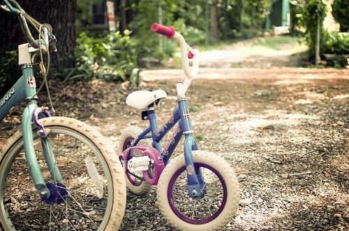 A Cop Borrows a Little Kid's Bike to Take Down a Criminal on the Run