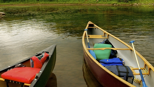 A Guy Lost His Prosthetic Leg, and Two Guys Find It Canoeing