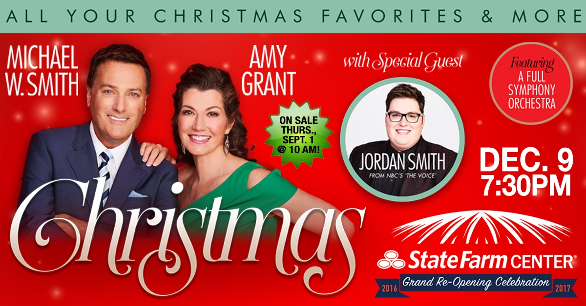 Christmas Tour with Michael W. Smith and Amy Grant to Visit December ...