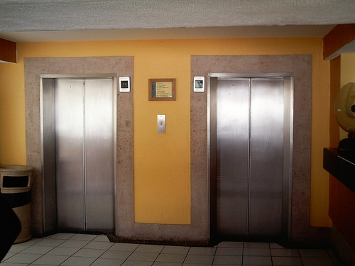 """Elevator Companies Admit That the """"Door Close"""" Button Doesn't Do Anything"""