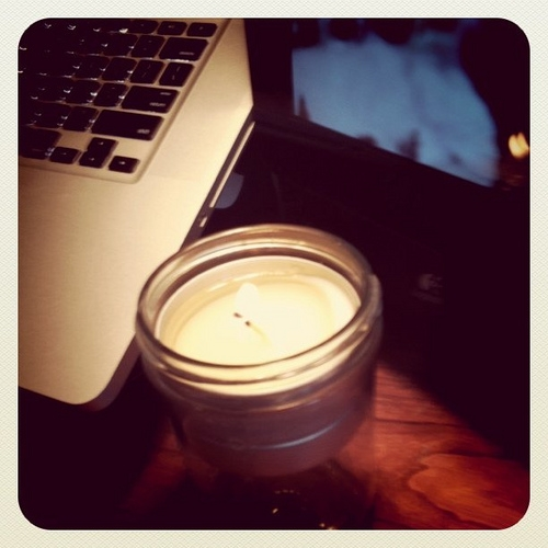 A New Candle Has the Same Smell as a Brand New Mac Computer?