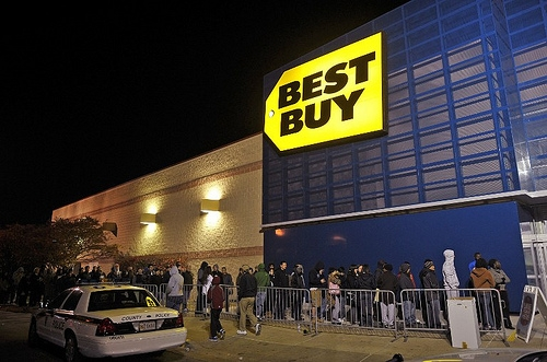 The First Person Is Already Lined Up For Black Friday . . . and Has Been Since Last Tuesday
