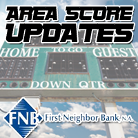 First Neighbor Bank Scoreboard: Football 10/13/17