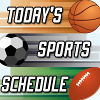 Local Sports Schedule:  Monday, January 8, 2018
