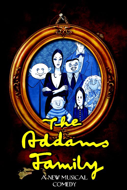 Mattoon High School Addams Family Musical Comedy