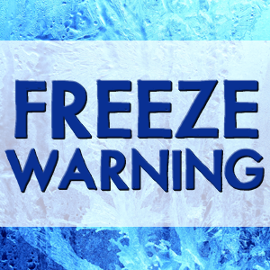 National Weather Service: Freeze Warning in parts of Indiana