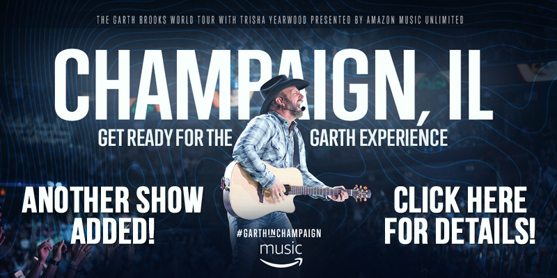 GARTH ADDS ANOTHER SHOW