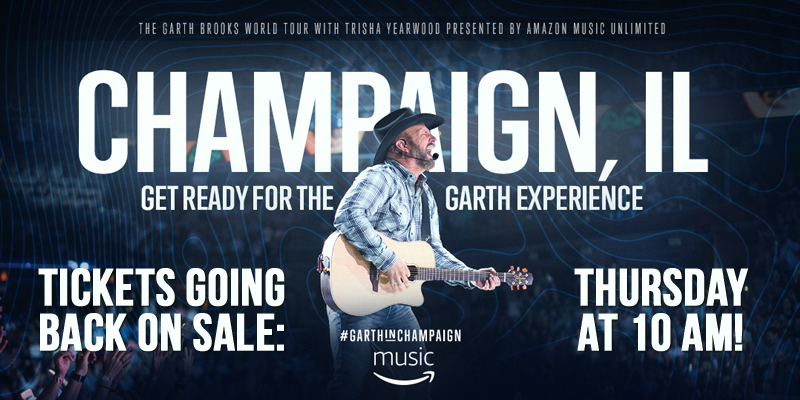Garth Tickets Going Back On Sale