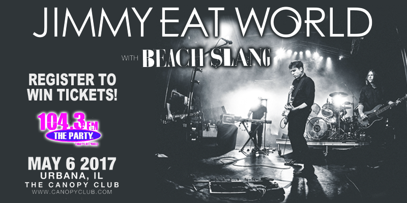 Jimmy Eat World - Ticket Giveaway