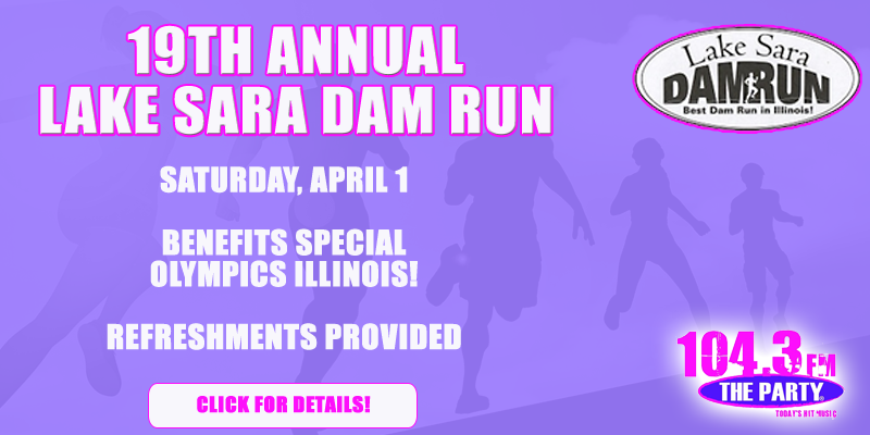 19th Annual Lake Sara Dam Run