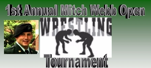 Mitch Webb Open Wrestling Tournament