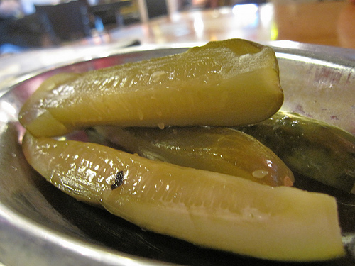 A New Sandwich Uses a Giant Pickle as the Bun