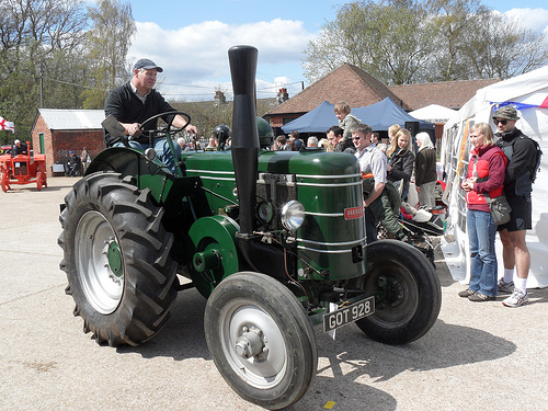 Chris Barker Memorial Tractor Drive and Show