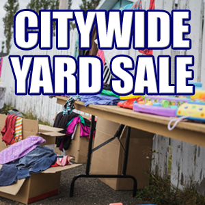 City Wide Yard Sales on Saturday