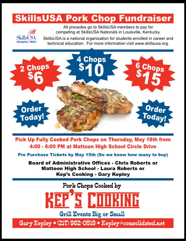 Pork Chop Fundraiser