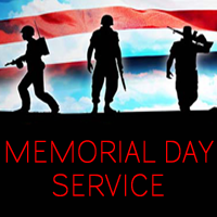 Memorial Day Services Around the Area
