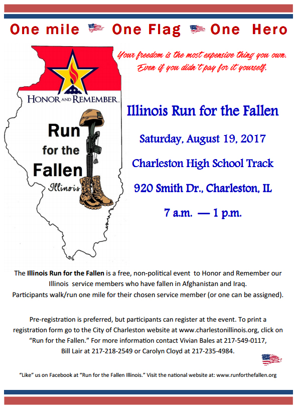 Illinois Run for the Fallen Next Month