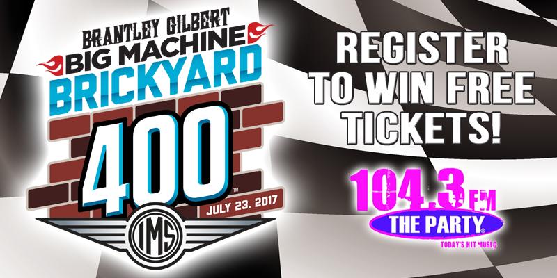Brantley Gilbert Big Machine Brickyard 400 Tickets