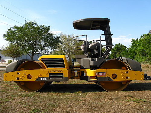 A Guy Steals a Steamroller and Tries to Use It to Outrun the Cops . . . at Eight Miles-Per-Hour