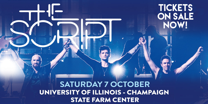 """The Script"" to Perform in Champaign"