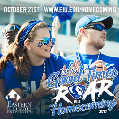 It's Homecoming week at EIU!