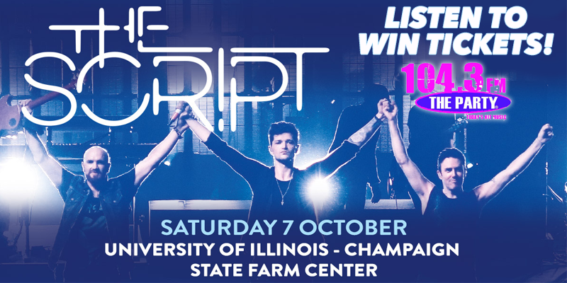 "Last Chance to Win ""The Script"" Tickets"