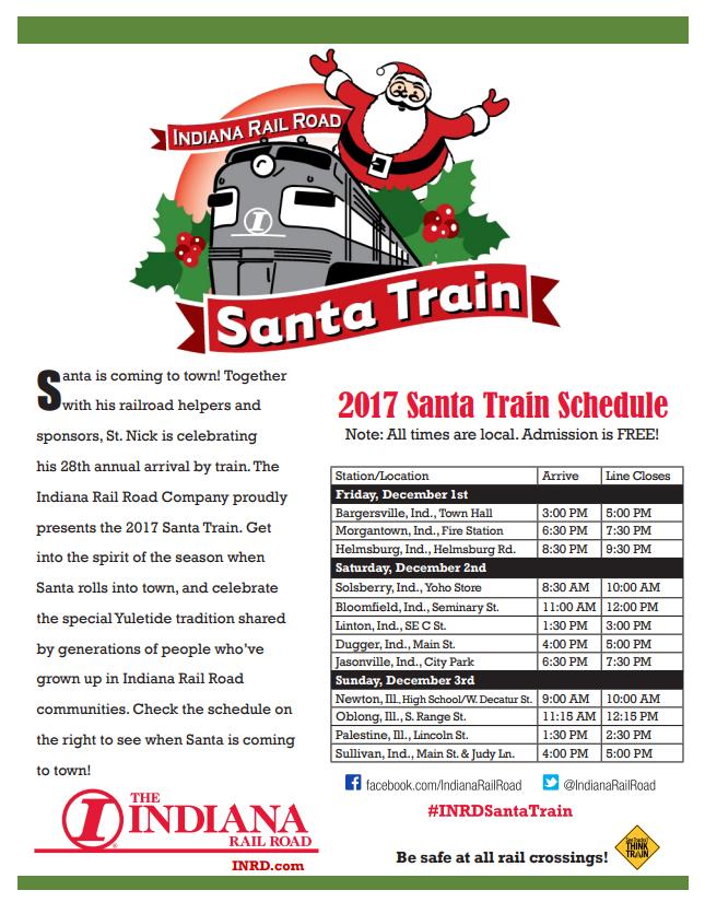 Santa Train 2017