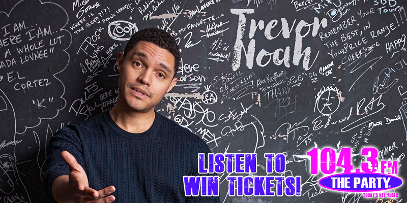 Trevor Noah - Ticket Giveaway