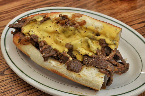 A Man in Pennsylvania Gets His Dying Wish:  To Be Buried With Cheesesteaks